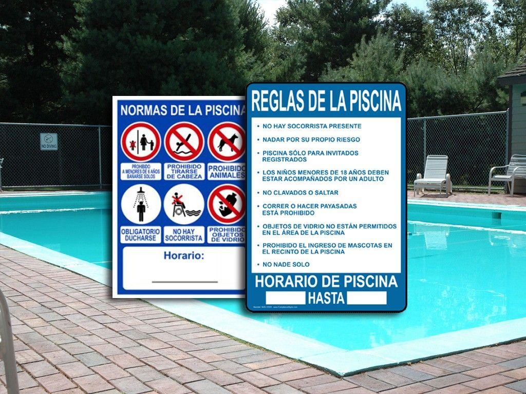 Reglas de seguridad en la piscina deepthroaters for En la piscina